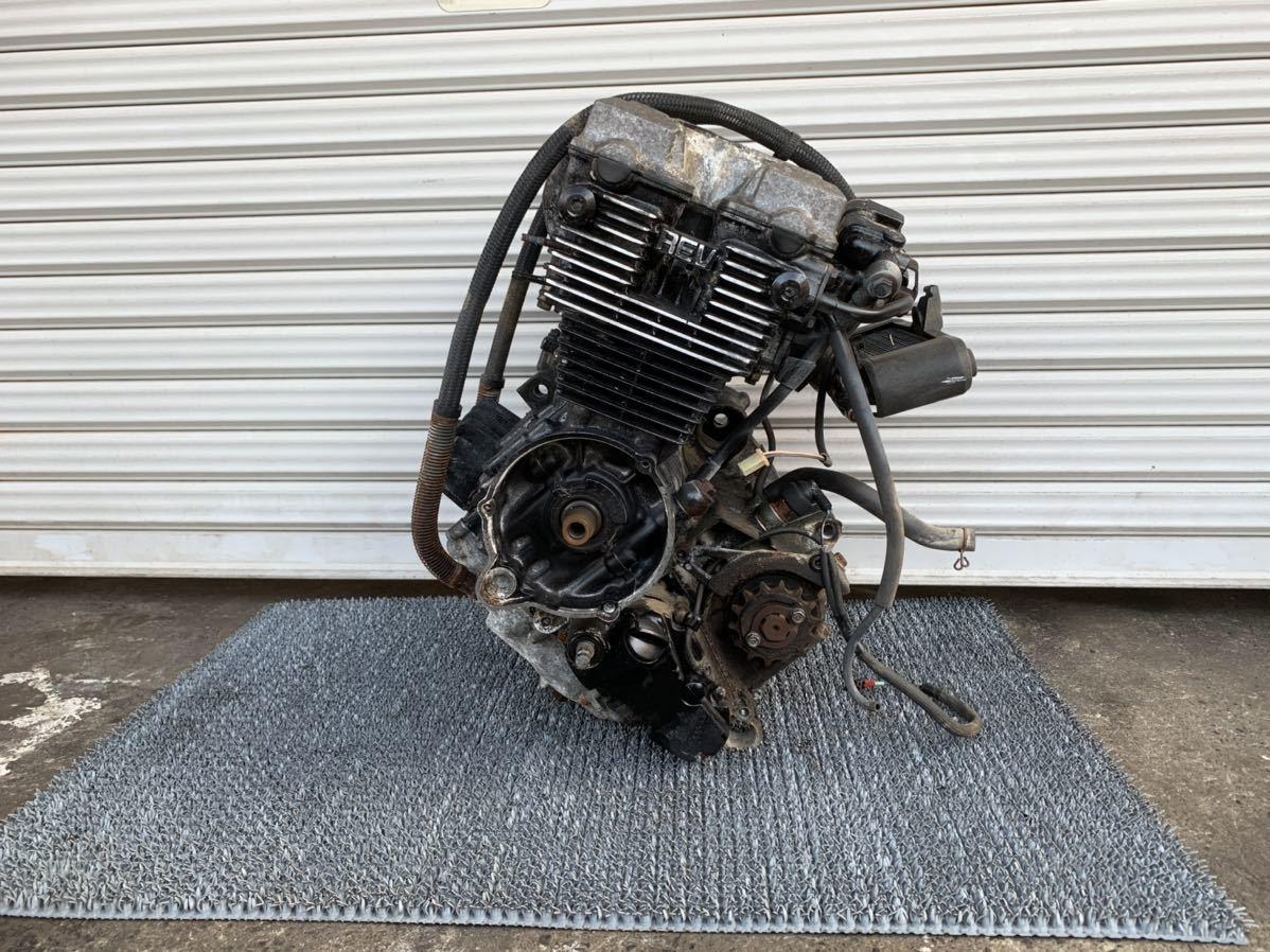 「極上 CBR400F NC17 純正 実働 エンジン 異音無し 始動動画有り 一台バラし出品中 当時物 CBX400F CBX550F」の画像2