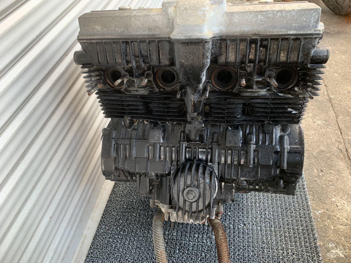 「極上 CBR400F NC17 純正 実働 エンジン 異音無し 始動動画有り 一台バラし出品中 当時物 CBX400F CBX550F」の画像3