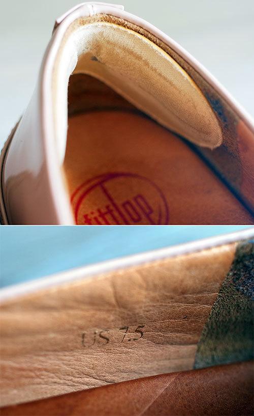フィットフロップ fitflop バレリーナ フラットシューズ パンプスタイプ ベビーピンク スモーキーパステルピンク バレエ_画像4