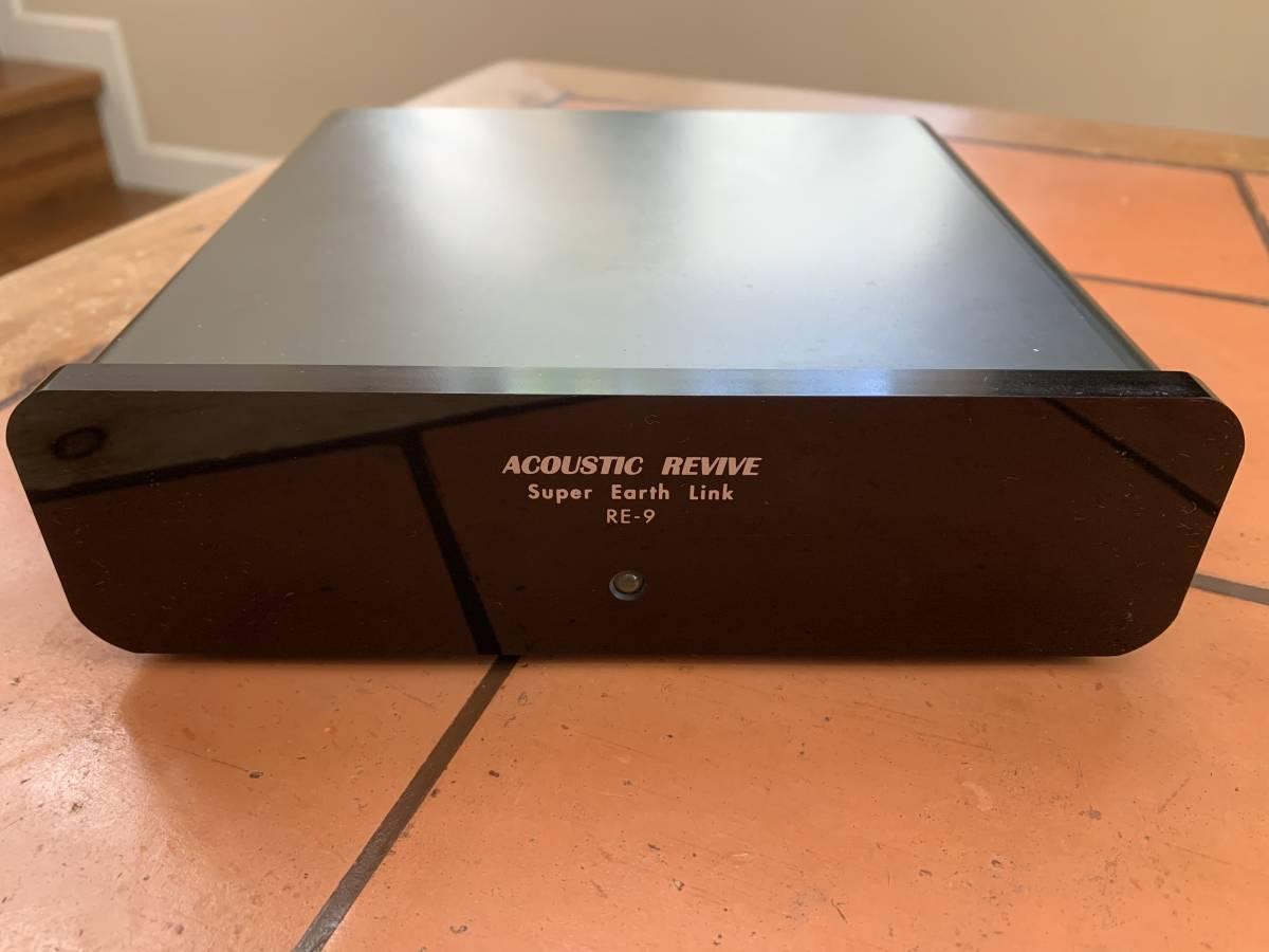 【美品・動作品】高性能仮想アース:Acoustic Revive Super Earth Link RE-9 / アコースティックリバイブ RE-9 _画像2