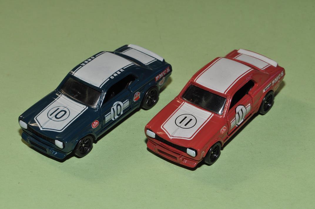 トミカ ニッサン KPGC10 スカイライン2000 GT-R カ-No.10 杉崎真司 / カ-No.11 S=1/62 2種セット _画像2