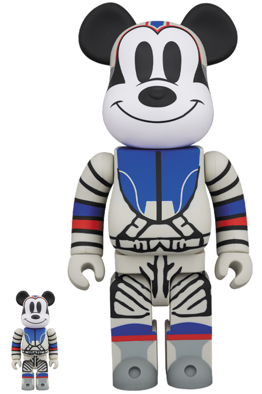 BE@RBRICK BILLIONAIRE BOYS CLUB MICKEY MOUSE 100% & 400% ベアブリック ミッキー