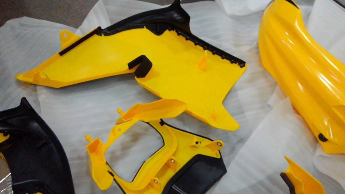 YAMAHA WR250X R WR 外装 キット カウル セット 未使用 新品 貴重 ヤマハ インターカラー 黄色_画像5