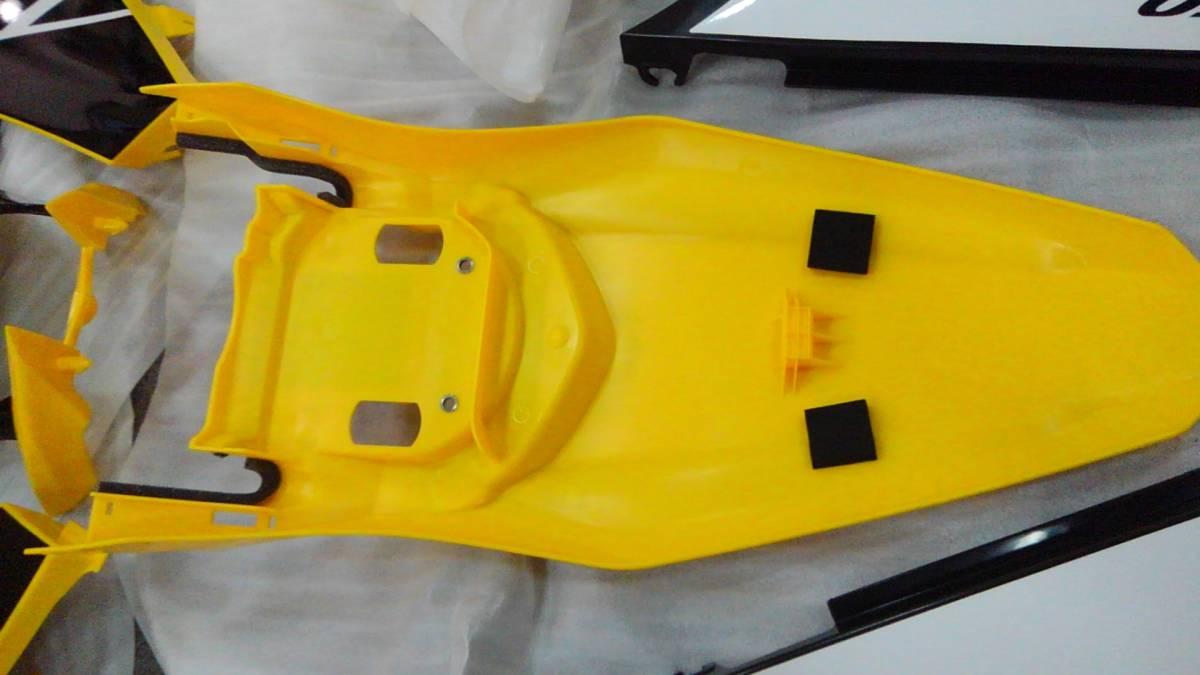 YAMAHA WR250X R WR 外装 キット カウル セット 未使用 新品 貴重 ヤマハ インターカラー 黄色_画像3