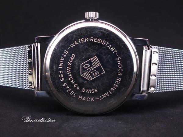 OH済 1970s ORIS オリス ビンテージ 機械式手巻き時計 /アンティークウォッチ/手巻きメンズ腕時計/,_画像3