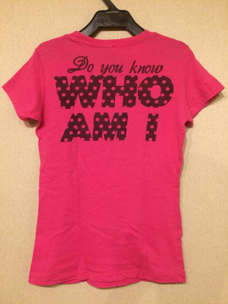 Tweety ラインストーン Tシャツ USED トゥイーティー ダメージ加工 80s Purple VINTAGE_画像2