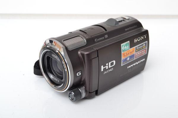 TD860B//SONY ソニー ハンディカム HDR-CX560V ボルドーブラウン Gレンズ 665萬畫素 タッチパネル 付屬品充実 1.8/3.8-38 WIDE