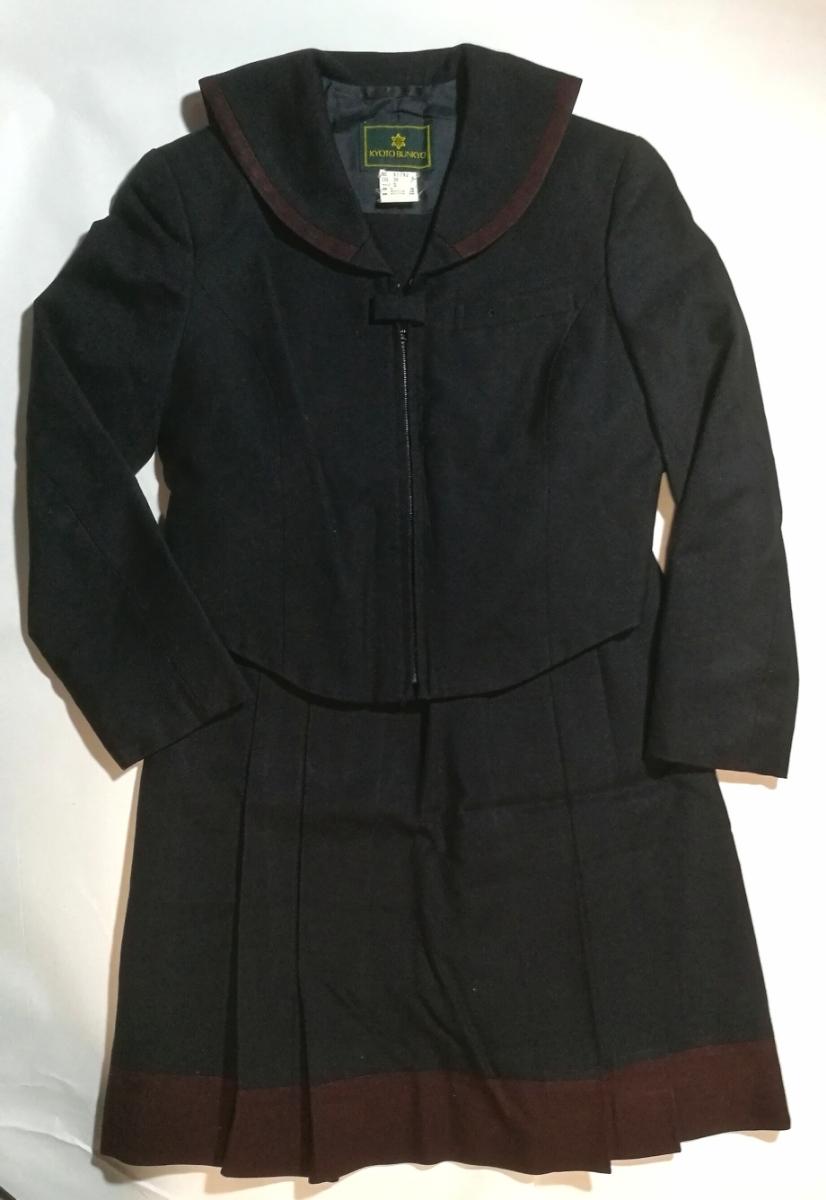 コスプレ衣装 京都文教中学校 冬服セーラー服 制服上下セット