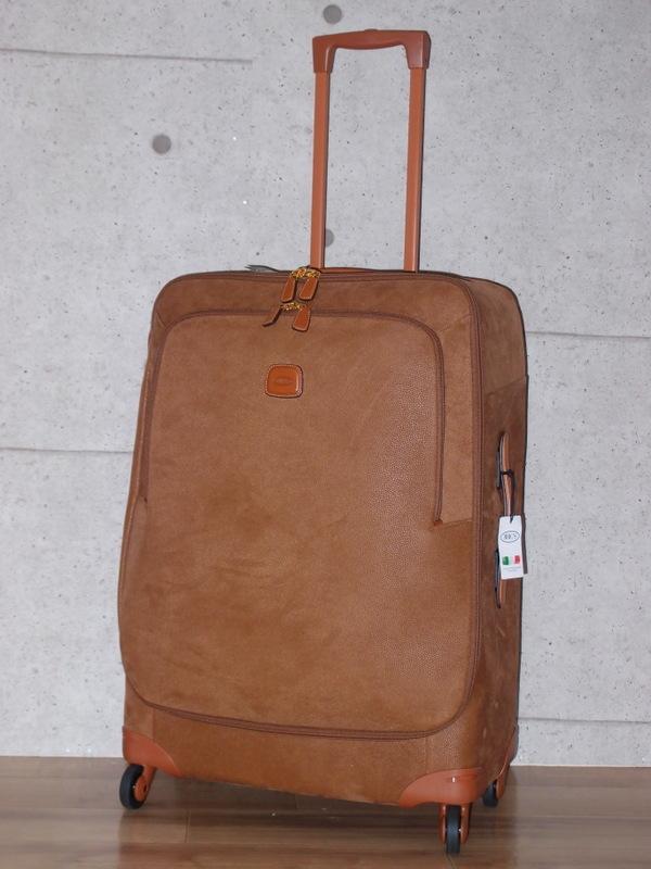 新品 BRIC'S イタリア製 高級 キャリーケース 定価約12万円 容量98リットル TSAロック付き◆ブリックス スーツケース トランク