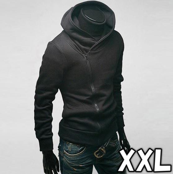 ブラック XXLサイズ PA-1 メンズ パーカー 薄手お洒落デザイン 春秋 1円スタート 新品 送料無料