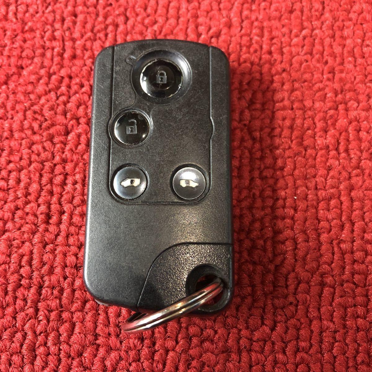 ホンダ RG系 ステップワゴン 72147-SLJ-J61 スマートキー 4ボタン 作動確認済み CC581_画像1