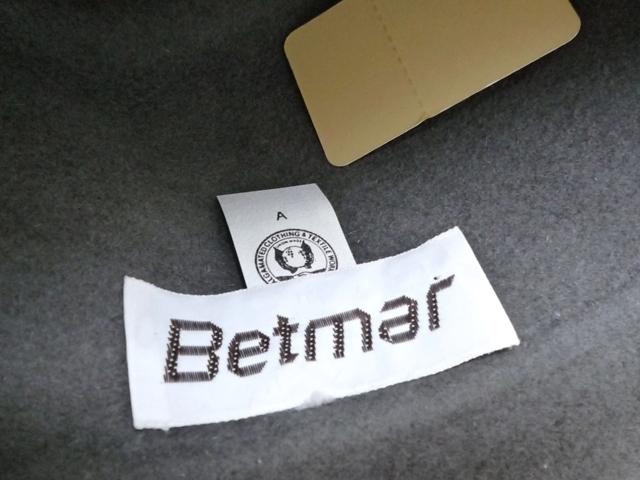 Betmar社 ビンテージ 中折れハット USA製 帽子 グレー 羽根付き ユニオンメイド UNION MADE ソフト帽 レディース_画像8