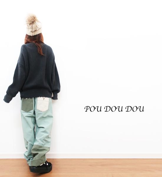 ☆送料188円☆POU DOU DOU☆カーキデ?#39030;ぅ?#20999;替パンツ☆★