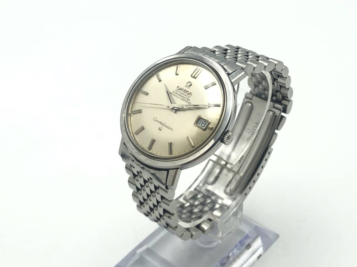 j-952 OMEGA Constellation CHRONOMATER OFFICIALLY CERTIFIED Automatic クロノメーター 自動巻 稼働品