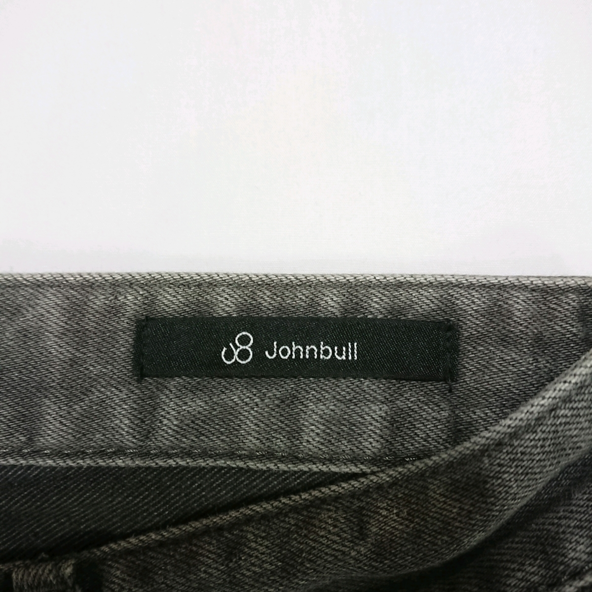 Johnbull ストレッチ デニム ジーンズ ジーパン 11760 日本製 ジョンブル グレー サイズS 送料無料
