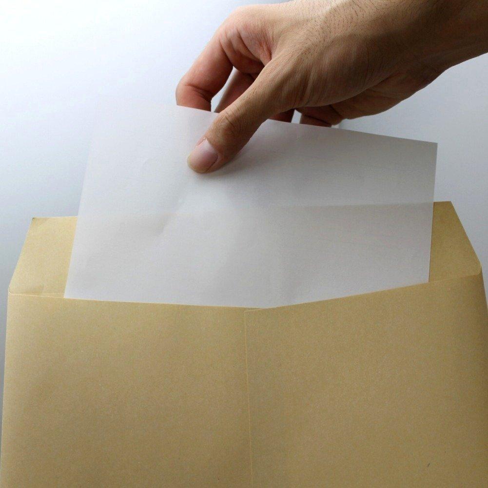 クラフト封筒A4 ビッグサイズ 50枚 角形2号240X332mm・70g/㎡定形外郵便用_画像2
