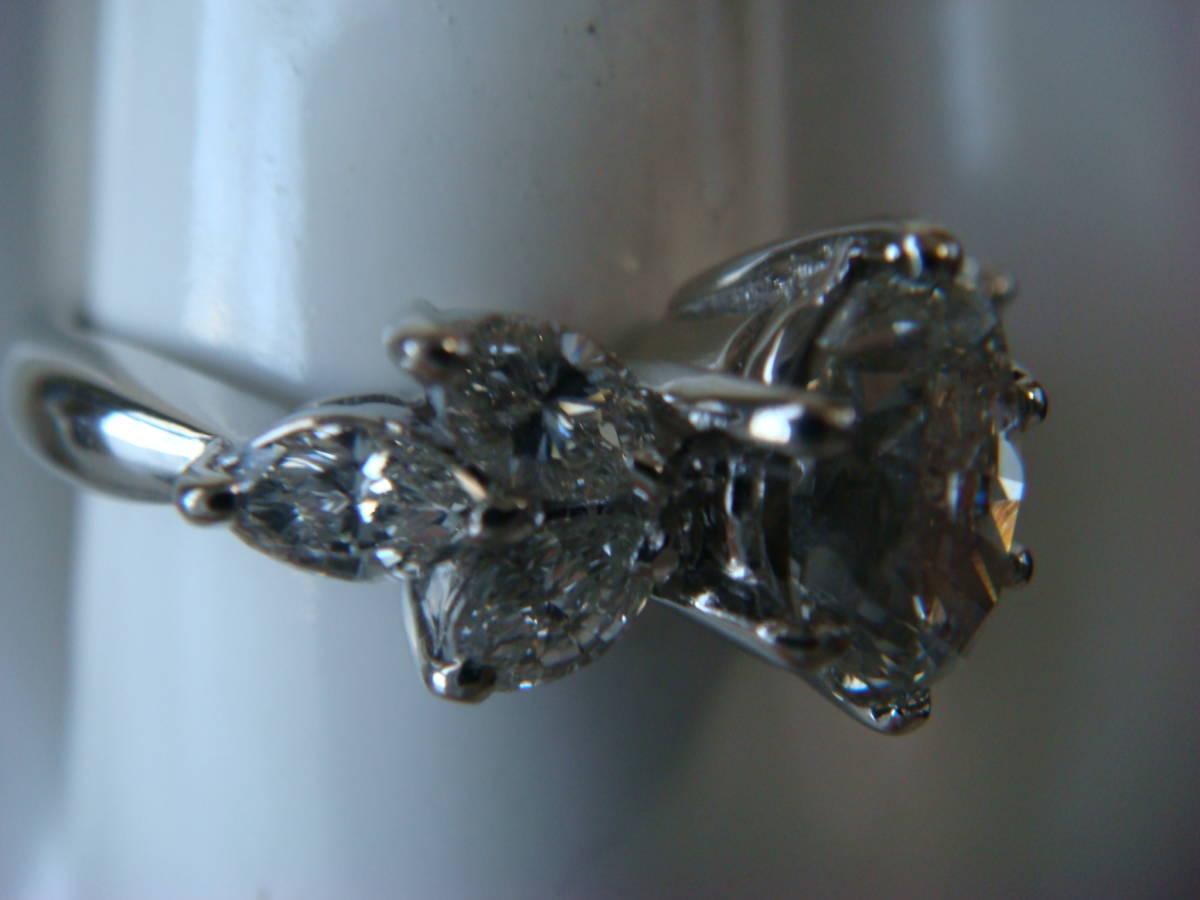 ◎オーバルカット 1,057カラット ダイヤモンドリング◎_画像8