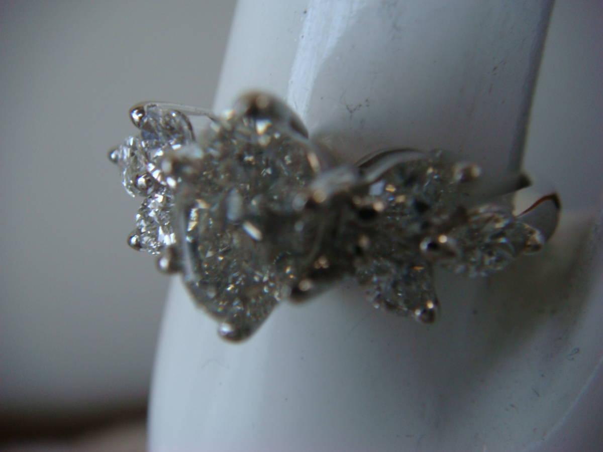 ◎オーバルカット 1,057カラット ダイヤモンドリング◎_画像9