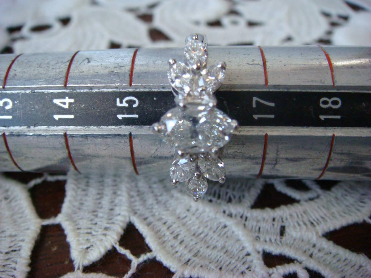 ◎オーバルカット 1,057カラット ダイヤモンドリング◎_画像10