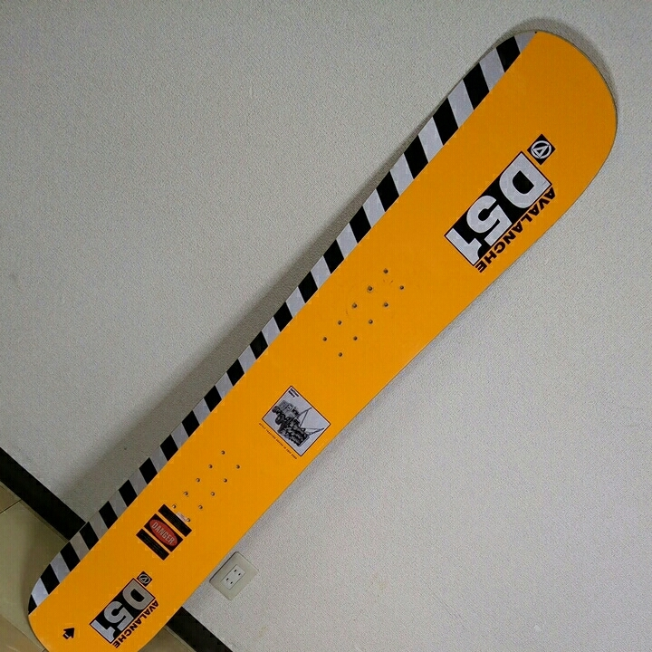 AVALANCHE D51 D-series 151 vintage snowboard vtg アバランチェ ビンテージ スノーボード 1994/1995_画像5