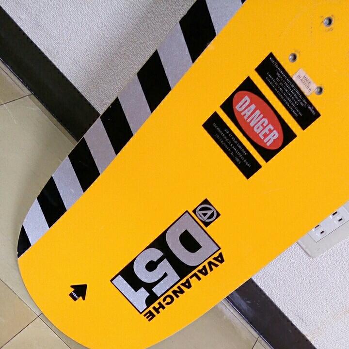 AVALANCHE D51 D-series 151 vintage snowboard vtg アバランチェ ビンテージ スノーボード 1994/1995_画像8