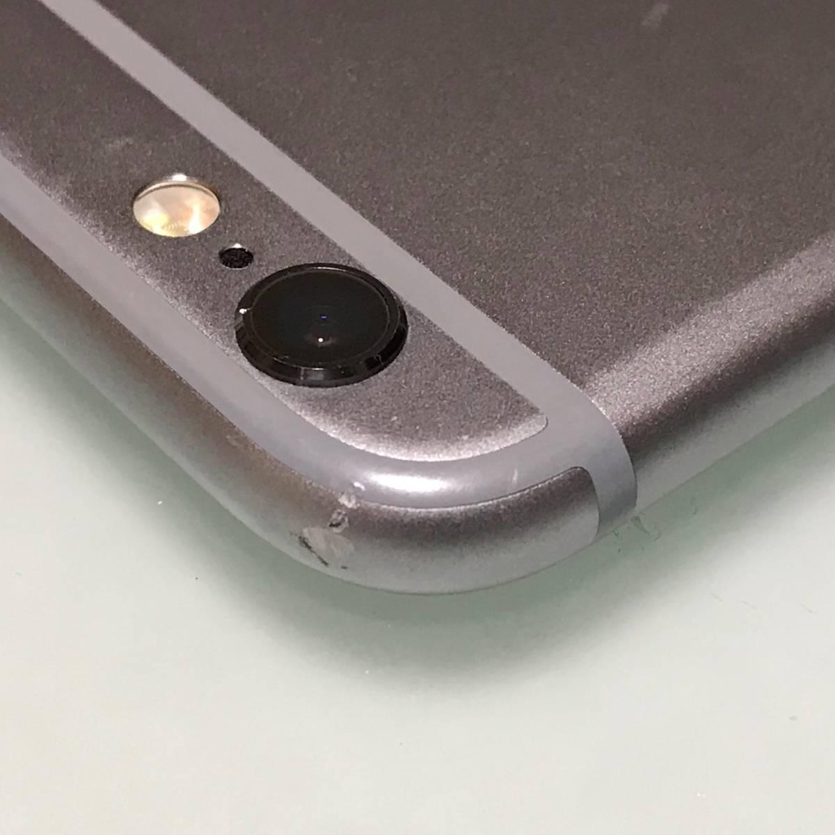 SIMフリー iPhone 6S スペースグレイ 128GB MKQT2J/A バッテリー容量100% アクティベーションロック解除済 docomo MVNO可 SIMロック解除済_画像6