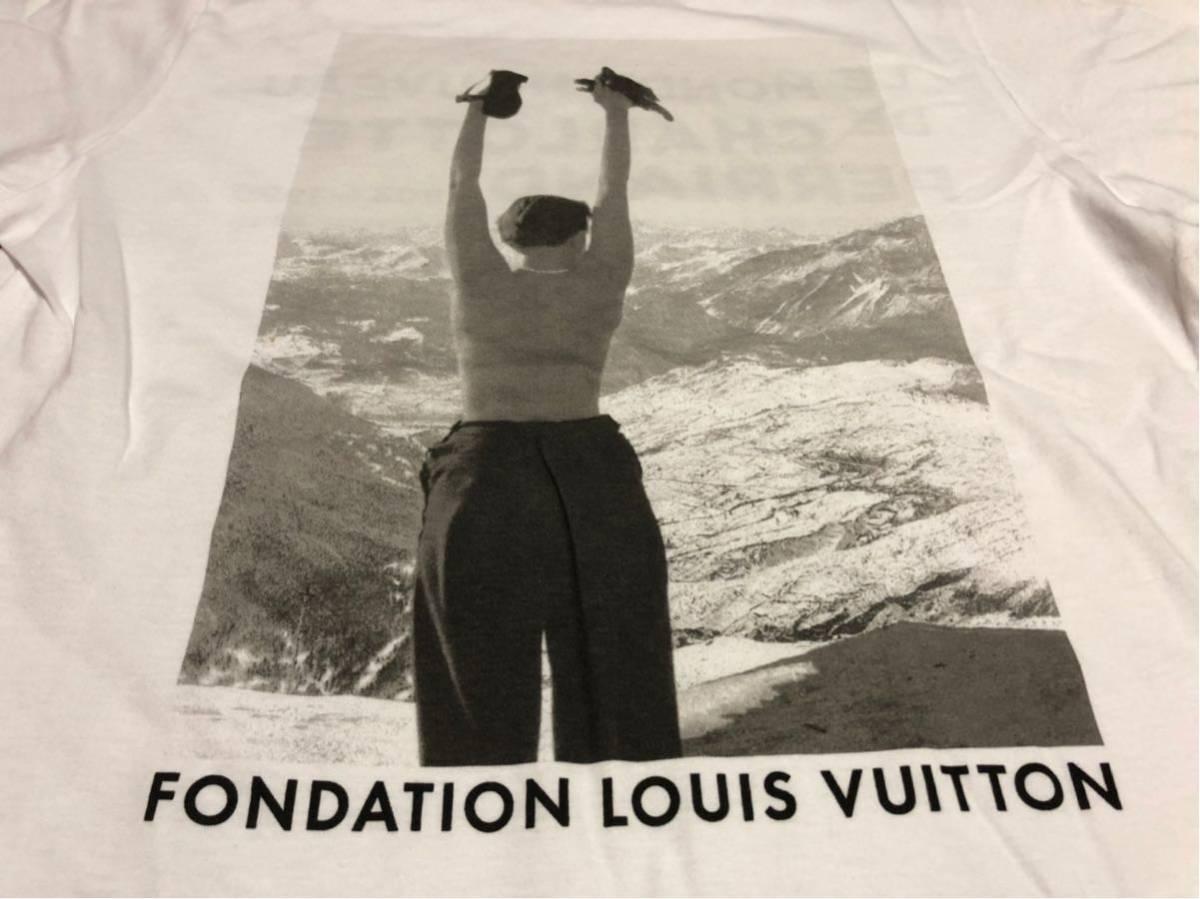 パリ限定 フォンダシオン ルイヴィトン Tシャツ XS ルイヴィトン美術館_画像2