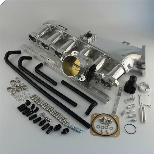 RB26DETT 大容量 アルミサージタンクキット スロットルボディデリバリーパイプ付き! R32 R33 R34 BCNR33 BNR32 BNR34 エキマニ マフラー_画像4