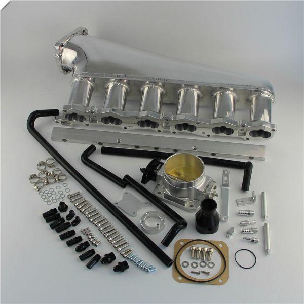 RB26DETT 大容量 アルミサージタンクキット スロットルボディデリバリーパイプ付き! R32 R33 R34 BCNR33 BNR32 BNR34 エキマニ マフラー_画像2