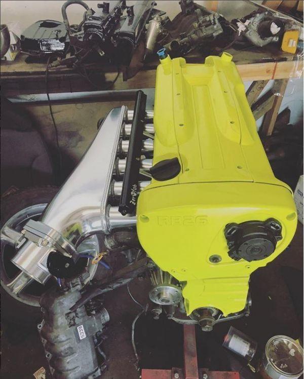 RB26DETT 大容量 アルミサージタンクキット スロットルボディデリバリーパイプ付き! R32 R33 R34 BCNR33 BNR32 BNR34 エキマニ マフラー_画像10