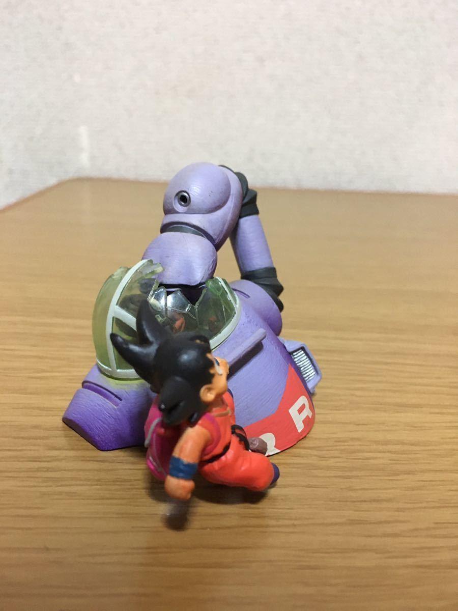 美品 ドラゴンボールカプセル クロニクル編 孫悟空VSブラック参謀 フィギュア ドラカプ _画像7