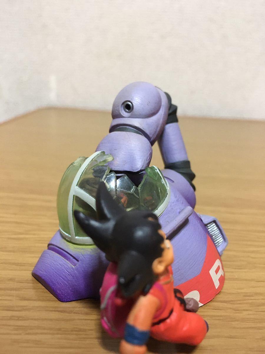 美品 ドラゴンボールカプセル クロニクル編 孫悟空VSブラック参謀 フィギュア ドラカプ _画像8