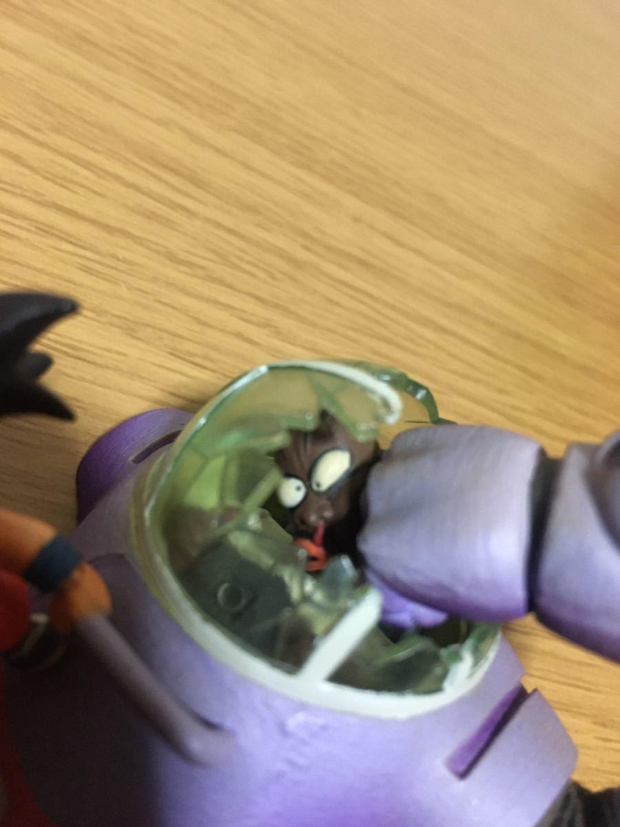 美品 ドラゴンボールカプセル クロニクル編 孫悟空VSブラック参謀 フィギュア ドラカプ _画像3