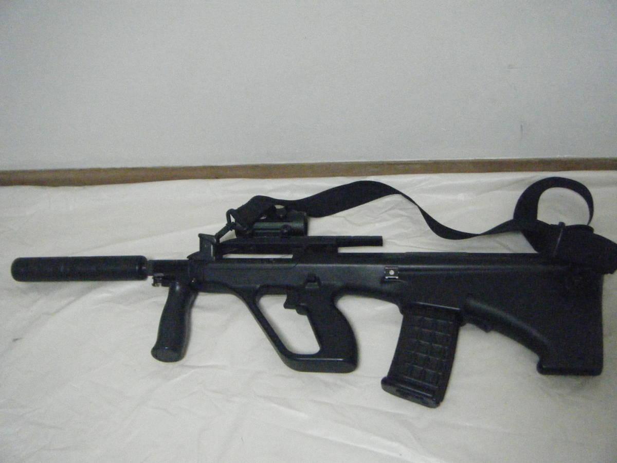 ASGK AUG ライフル tasco 1×30スコープ付 ミリタリー パーツ取り_画像2