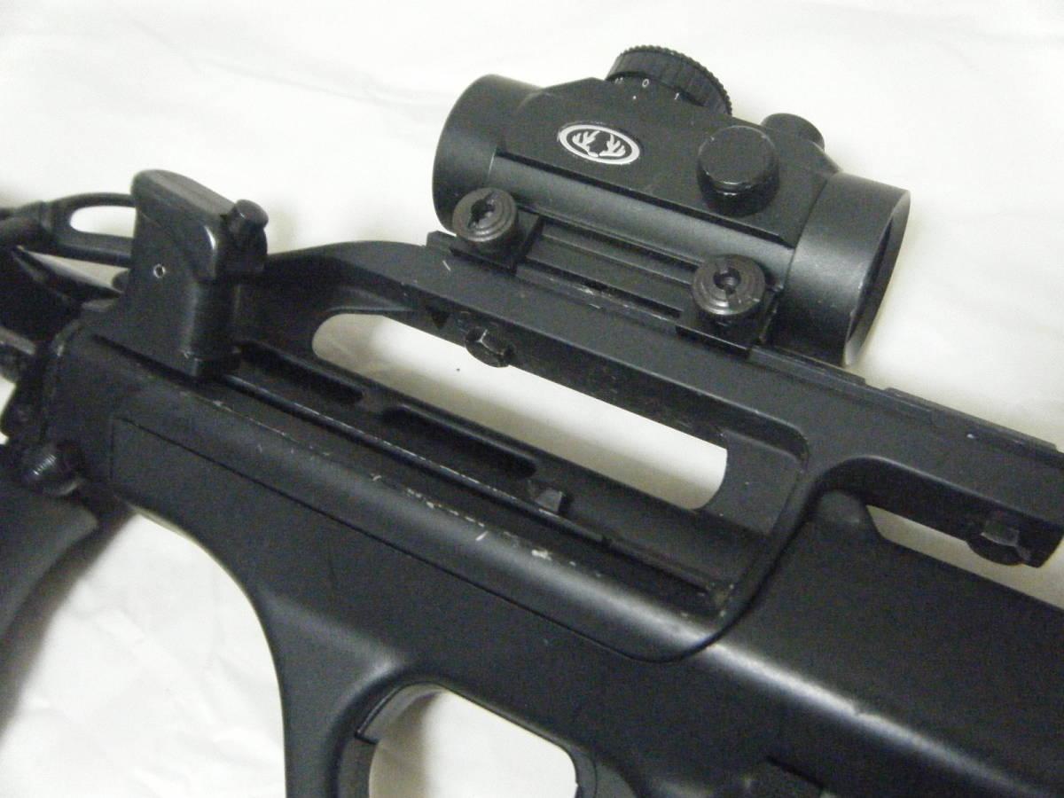 ASGK AUG ライフル tasco 1×30スコープ付 ミリタリー パーツ取り_画像6