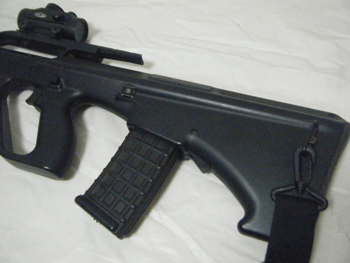 ASGK AUG ライフル tasco 1×30スコープ付 ミリタリー パーツ取り_画像7
