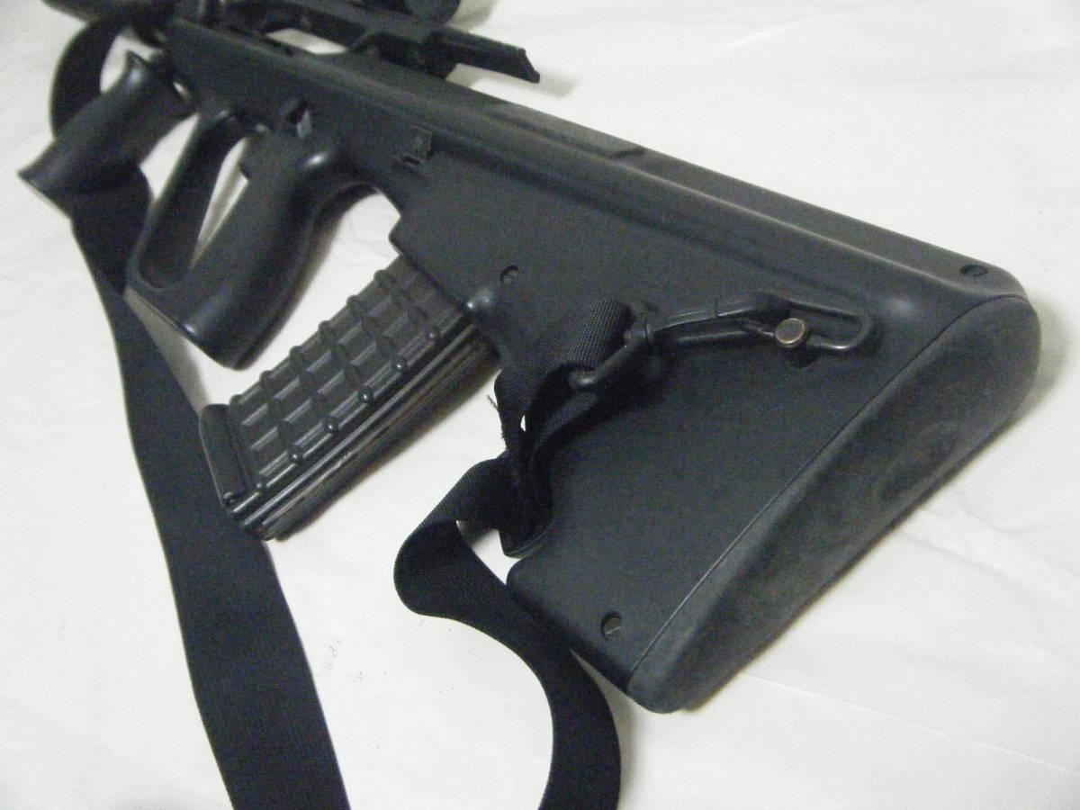 ASGK AUG ライフル tasco 1×30スコープ付 ミリタリー パーツ取り_画像8