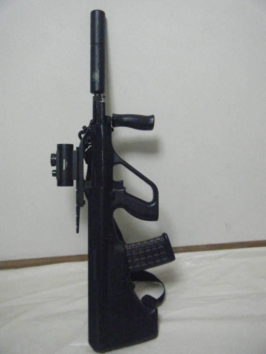 ASGK AUG ライフル tasco 1×30スコープ付 ミリタリー パーツ取り