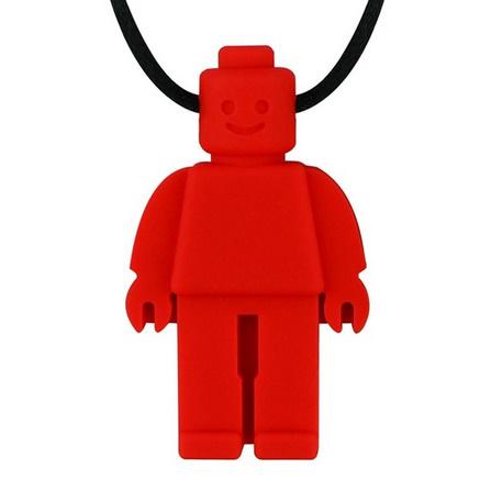 Y2210☆★☆食品グレードシリコーン感覚チュアブル置物玩具シリコーンおしゃぶりロボットかむネックレス子供のためのベビー☆★☆_画像10