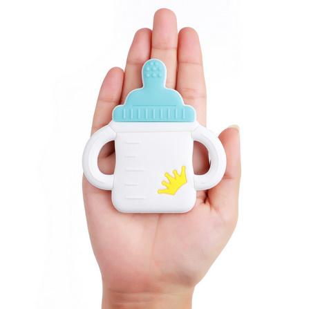 Y2212☆★☆1PC ベビーおしゃぶりミルクボトルかわいい看護歯が生えるおもちゃ Bpa フリーの食品グレードのシリコーンおしゃぶり☆★☆_画像3