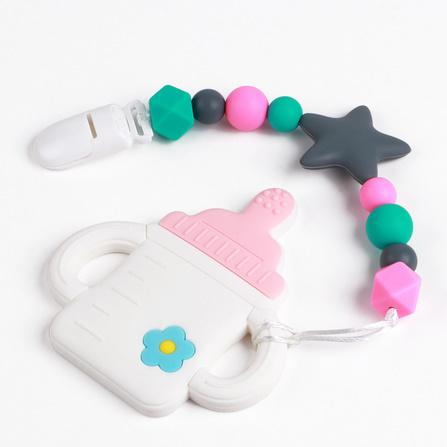 Y2212☆★☆1PC ベビーおしゃぶりミルクボトルかわいい看護歯が生えるおもちゃ Bpa フリーの食品グレードのシリコーンおしゃぶり☆★☆_画像5