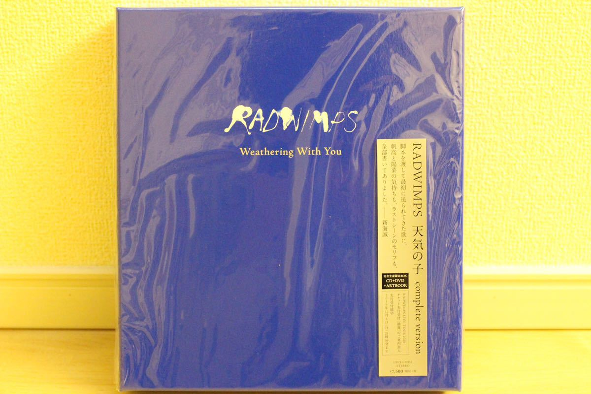 RADWIMPS 天気の子 complete version CD+DVD 美品 即決