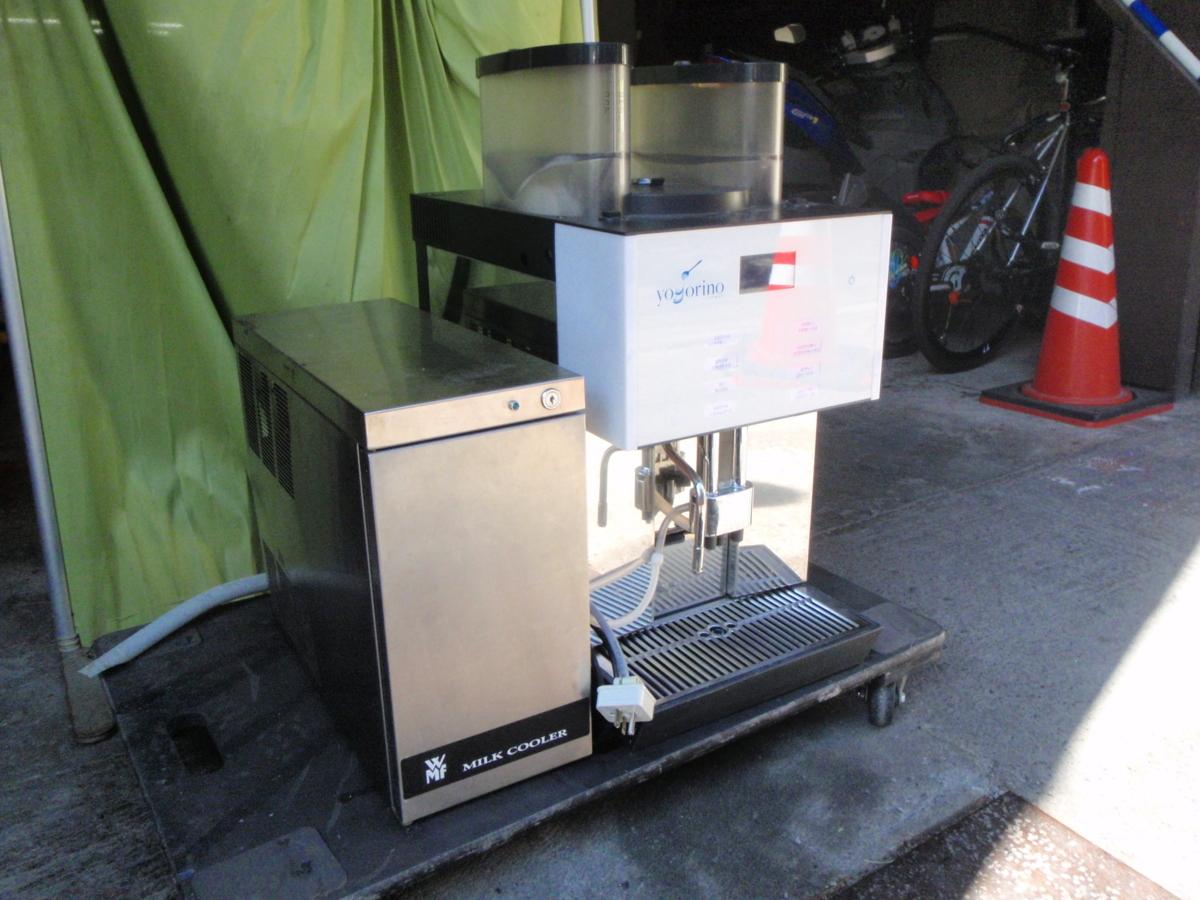 ◆動作確認・簡易清掃済み エスプレッソマシン/コーヒーマシン+ミルククーラー WMF 2000S◆_画像1
