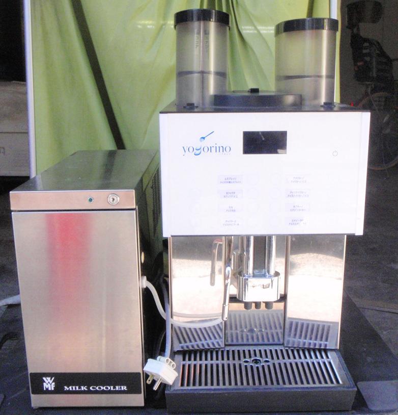 ◆動作確認・簡易清掃済み エスプレッソマシン/コーヒーマシン+ミルククーラー WMF 2000S◆_画像2