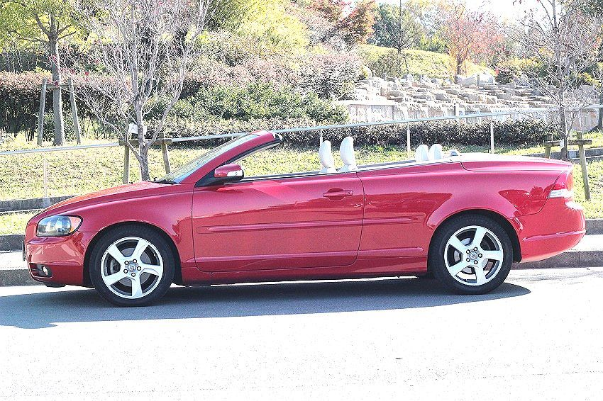 H20 Volvo C70* less accident car * real running * inspection R.3.6.27* electric metal top operation verification OK! timing belt exchange . settled!HDD navi * leather seat *4 number of seats!