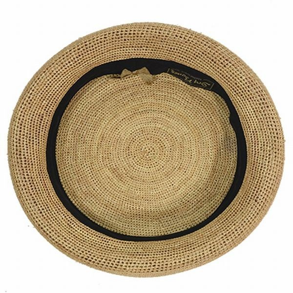 DRY BONES DCH-525 Summer Raffia Beret ドライボーンズ サマーベレー 帽子 キャップ ブラック_画像2
