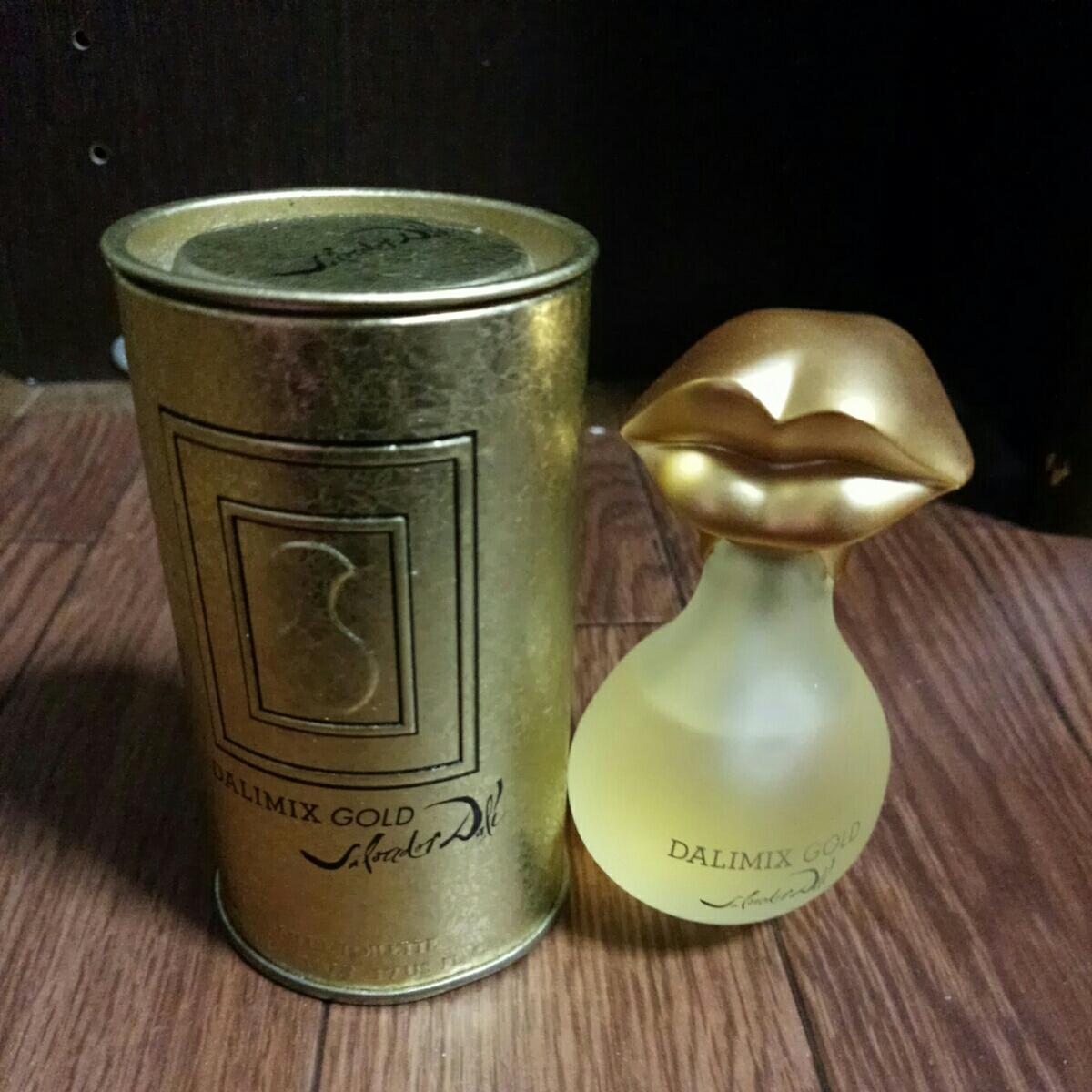 Salvador Dali サルバドール・ダリ DALMIX GOLD ダリミックス ゴールド オードトワレ EDT フランス製 香水 50ml