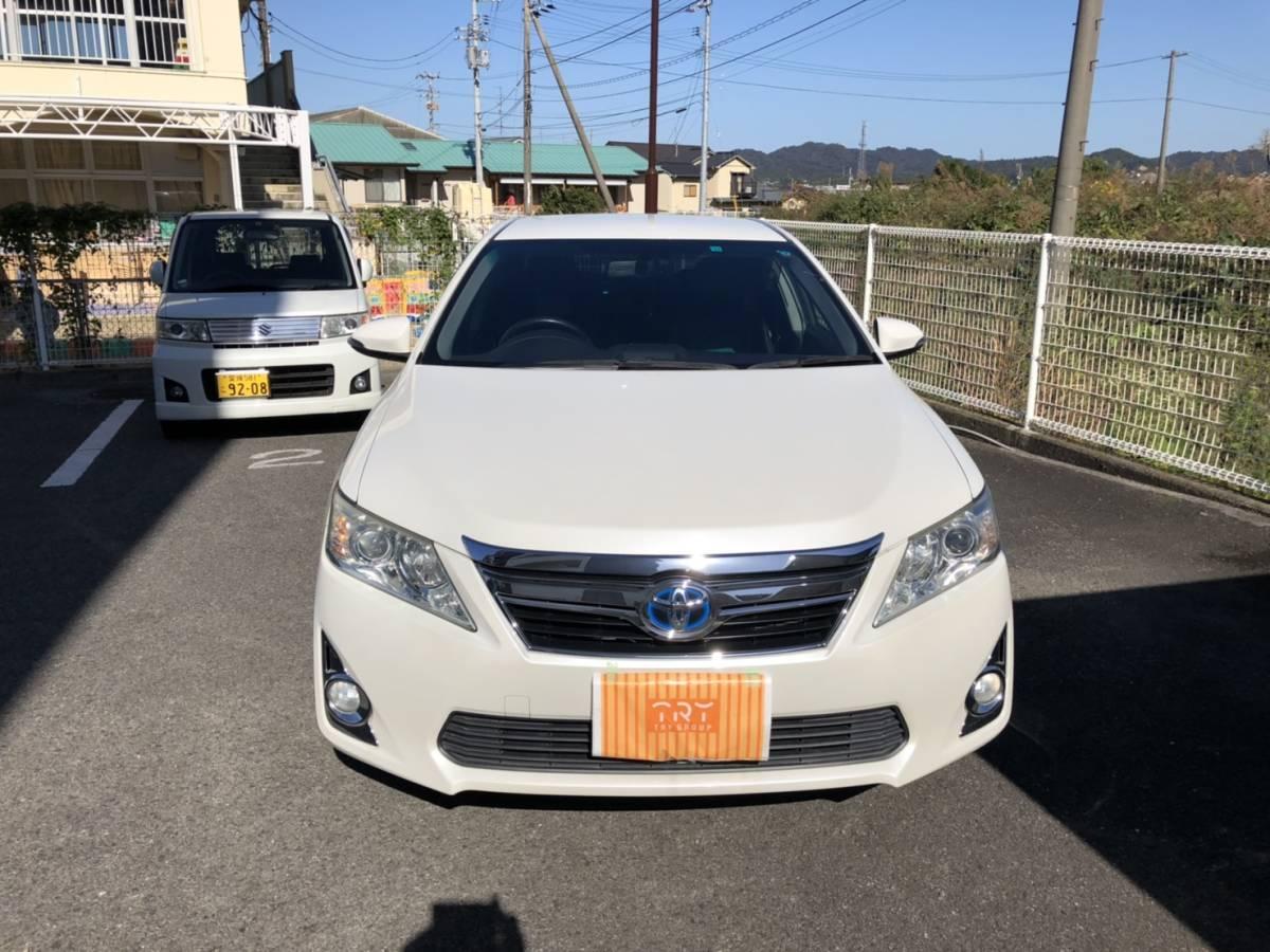 「美車、車検2年付き!トヨタ カムリ ハイブリッド レザーパッケージ」の画像1