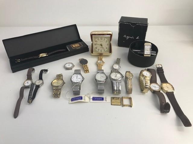 時計おまとめ Dior バーバリー POLO SEIKO DAKA CITIZEN などのブランド時計 計19点 メンズ・レディース時計 ジャンク品 個人長期保管