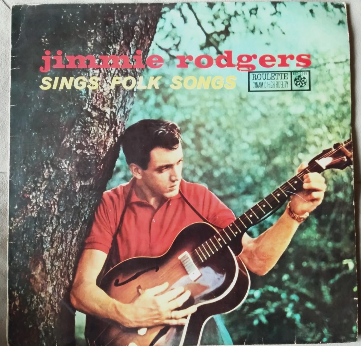 LP ジミー ロジャース // sings folk songs_画像1